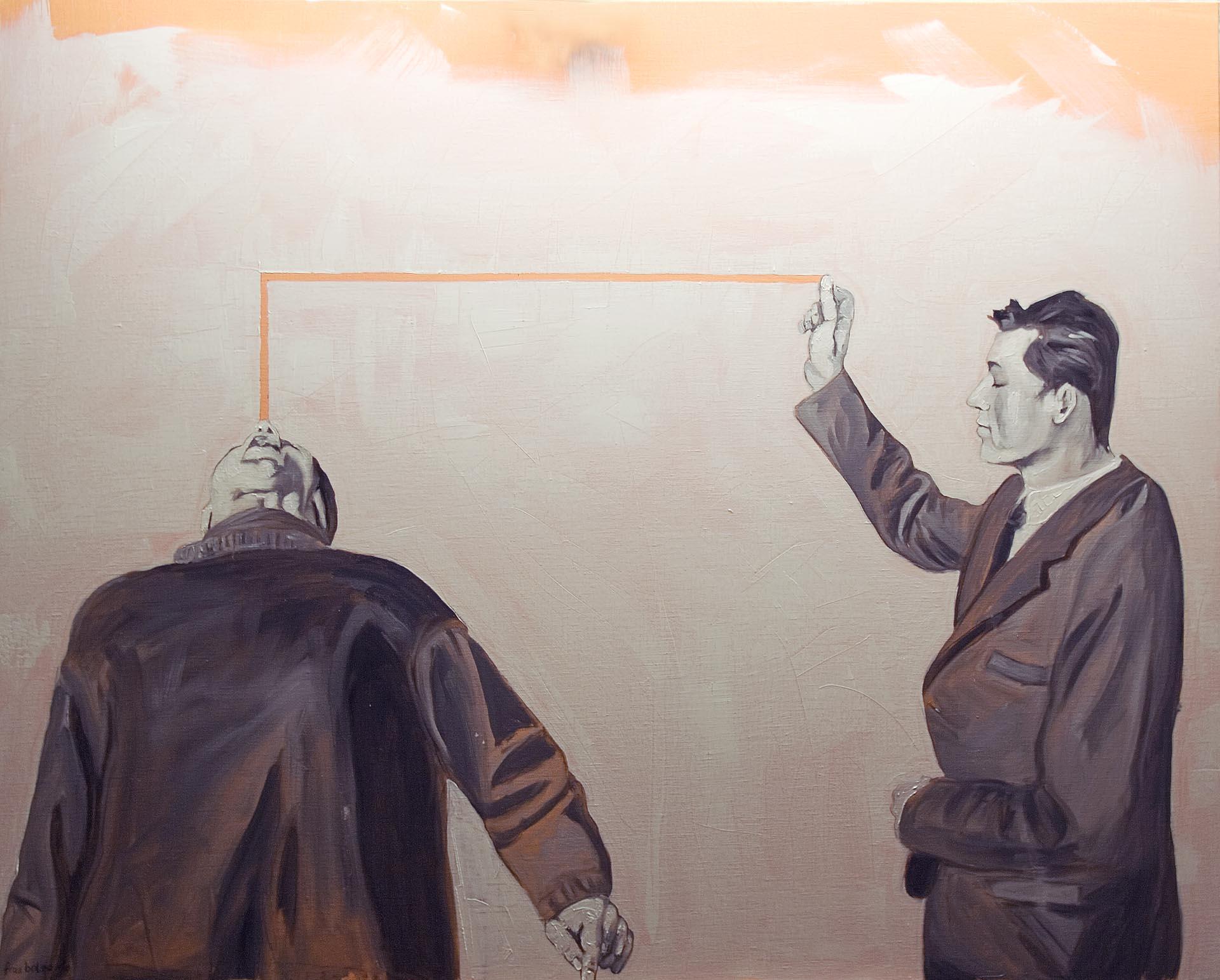 Einwurf oil on canvas © fraubolza 2011